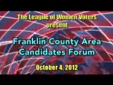 Pasco/Franklin County Area Candidates Forum, October 4, 2012