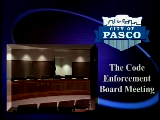 Special Code Enforcement Meeting, May 12, 2011
