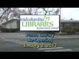 Pasco Library Reopening, January 2, 2014