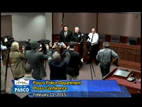 Pasco Police Press Conference, February 11, 2015