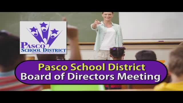 Pasco School District Board of Directors Study Session, May 24, 2016