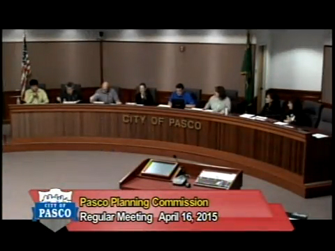 Planning Commission Meeting, April 16, 2015