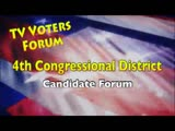 4th Congressional District Candidate Forum, September 24, 2014